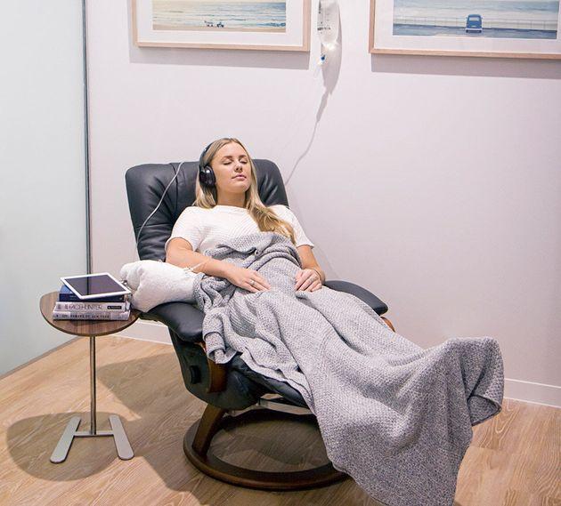 Treatment takes around 30