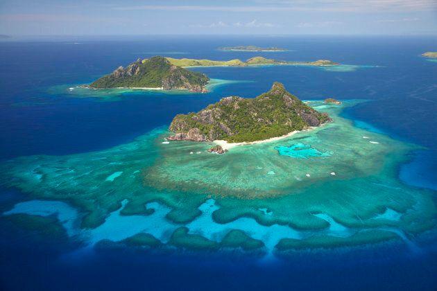 The Mamanuca Islands of Fiji.