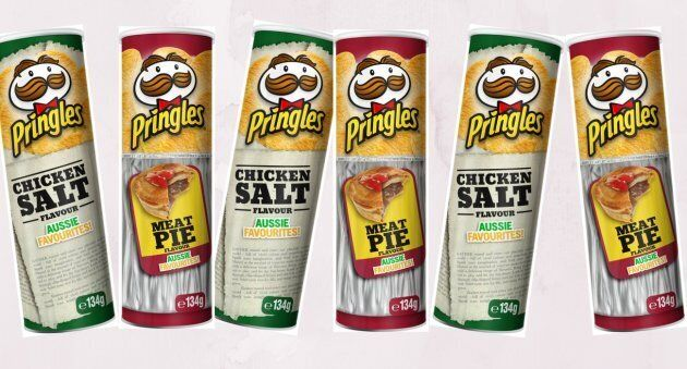 Pringles Just Launched 'Chicken Salt' And 'Meat Pie'