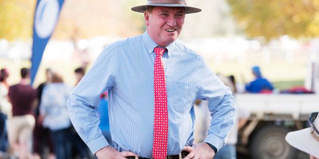 Deputy Prime Minister Barnaby Joyce has some staunch supporters this