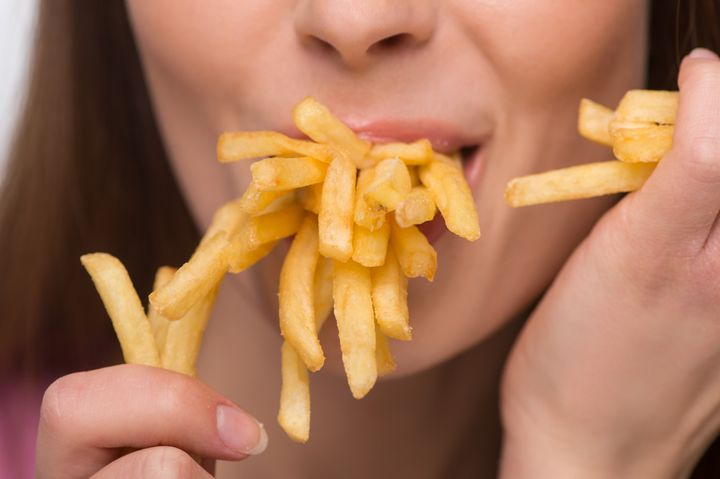 Best to keep French Fries as a treat.