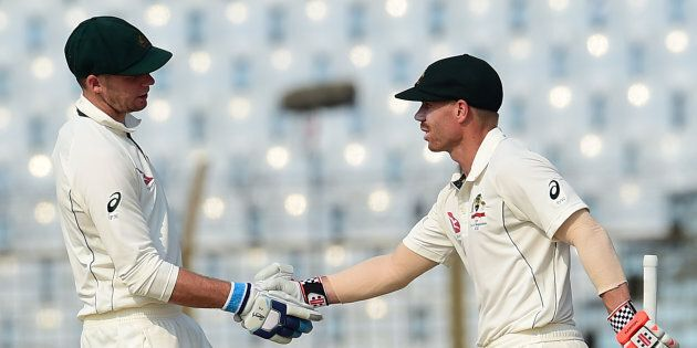 Another Century For David Warner As Aussies Finally Show Some