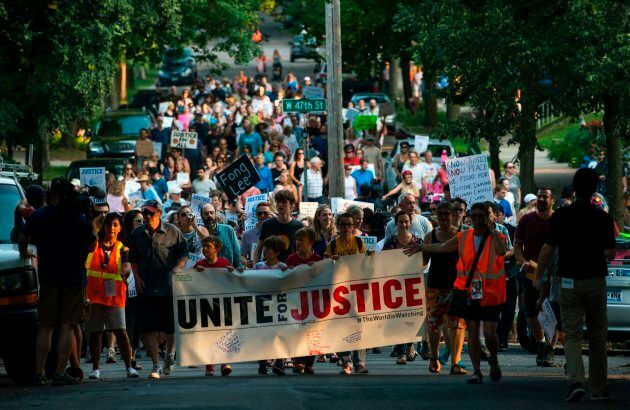 Justine's death sparked protest marches in Minneapolis. It's the third fatal police shooting in the city...