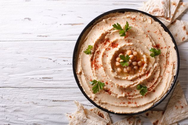 Serve with pita bread for extra