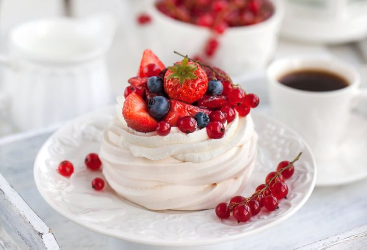 Pavlova perfection.