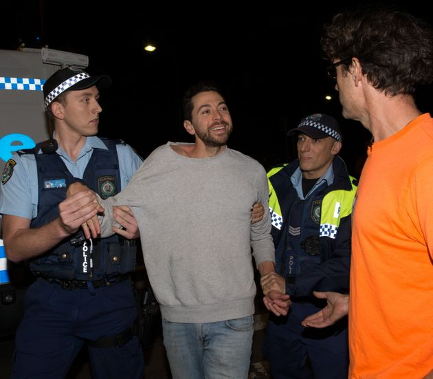 James Mathison was arrested in May after climbing a tree at protests to save Anzac Parade Moreton Bay...