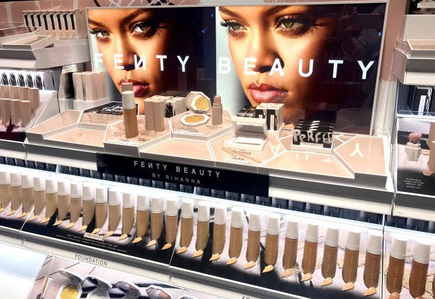 Rihanna Launches Her Own Makeup Range Globally Huffpost Australia