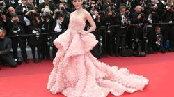 Woman Perfectly Recreates A Cannes Dress Using Prawn