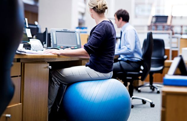 Swiss-balls were all the rage in office seating a decade ago. They are effective, but a regular good...