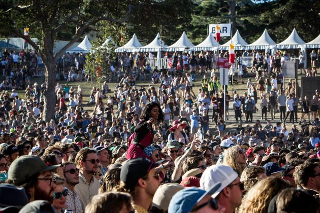 Big festivals like Byron Bay's Splendour In The Grass may be forced to