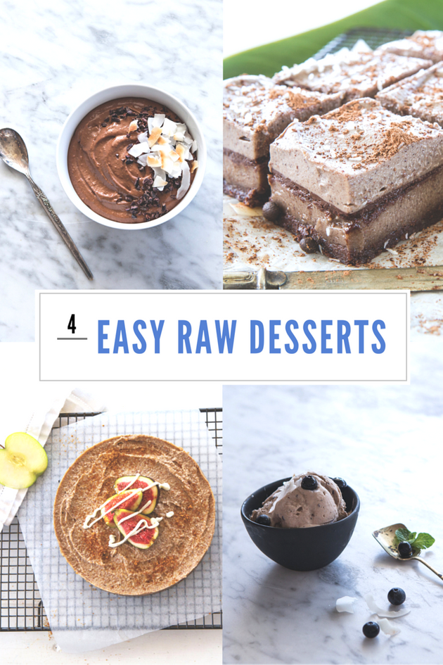 Mouthwatering Raw Desserts (That Are Actually Easy To