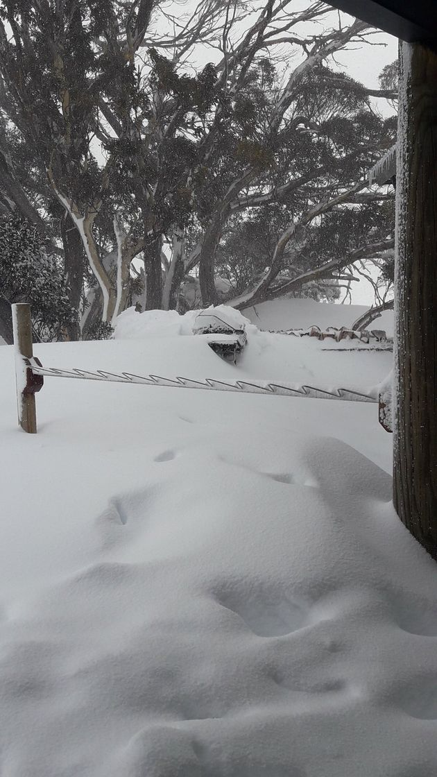 Doors, Tables, Cars, Balconies Buried After Mountainous Aussie