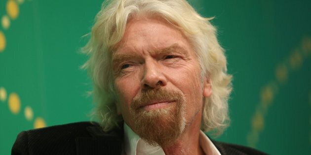 Sir Richard Branson is supporting HJillary Clinton's tilt for the White