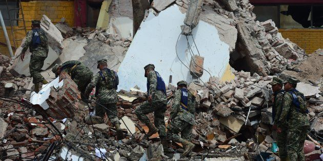 Mexico's most powerful earthquake in a century killed at least 58
