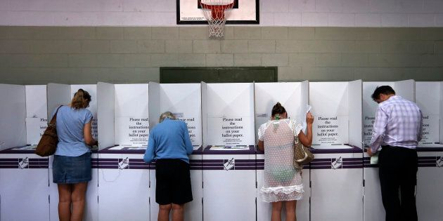 Voters in the ACT are heading to election booths on