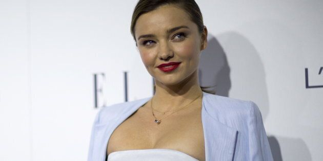 Miranda Kerr was reportedly not at home at the