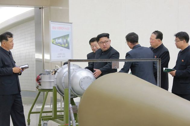 North Korean leader Kim Jong Un called for the sixth nuclear weapon test on Sunday 3rd