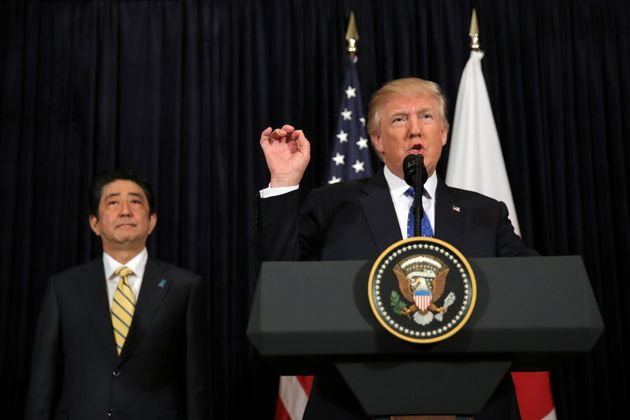 U.S. President Donald Trump warns military action against North Korea could be an