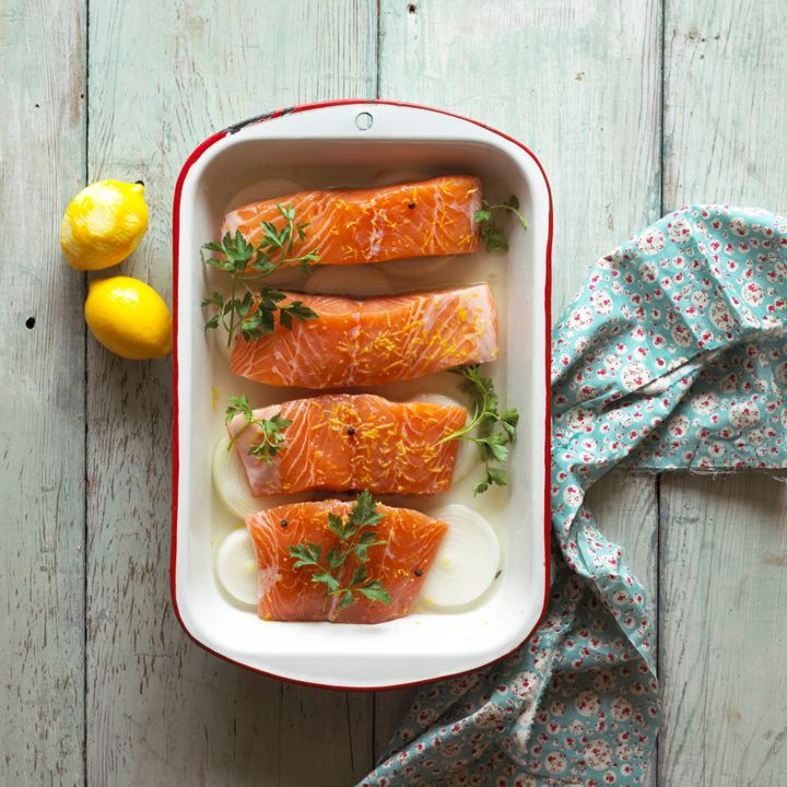 Fatty fish, such as salmon, are a good source of vitamin D.