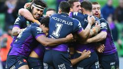 Melbourne Storm Play Hot Potato To Score Jaw-Dropping