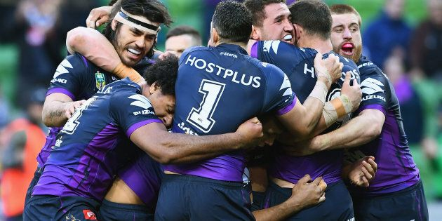 'Hot potato' is Storm's new team song.