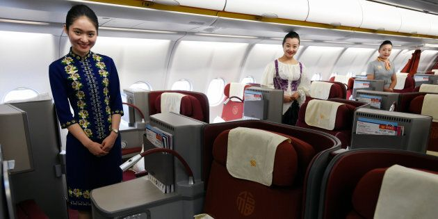 Chinese air carrier Hainan Airlines offers the world's best service.