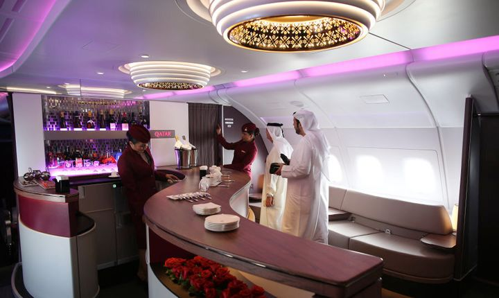 Qatar Airways is known for its high level of service.