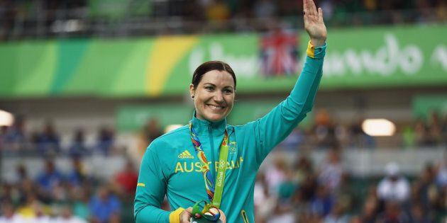Anna Meares won the bronze medal in the keirin at Rio 2016 Olympic