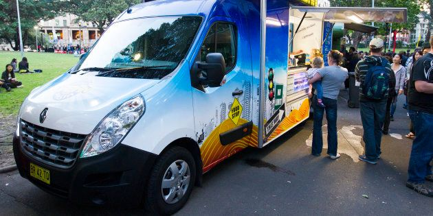 Urban Pasta, a food truck which operates in and around Sydney.