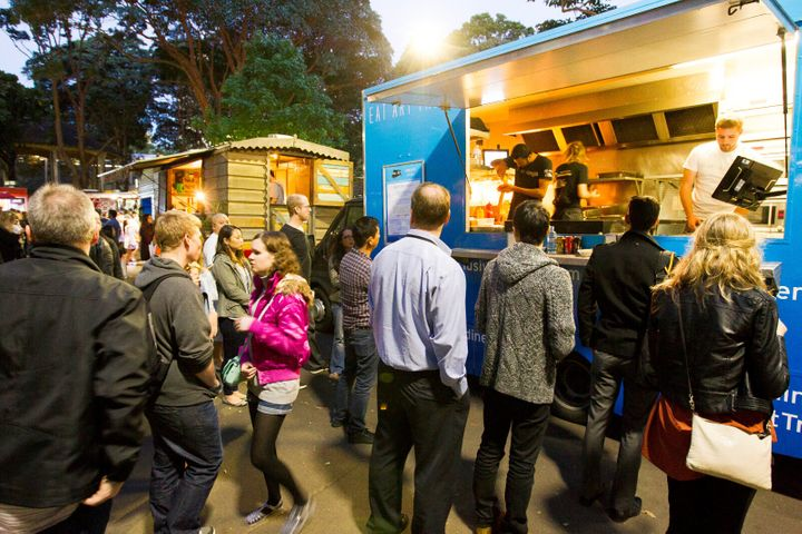 Food Trucks United, Belmore Park.