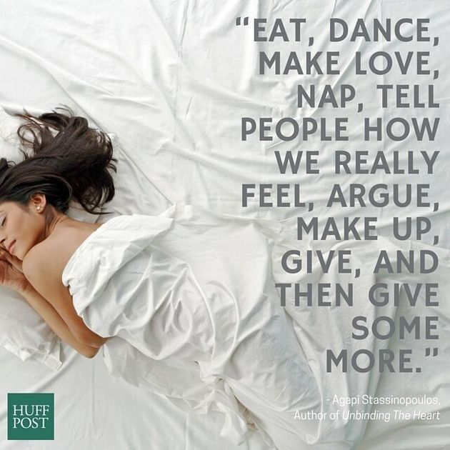 Dance, Nap, Romance And Reconnect: Four Tips To Thriving In