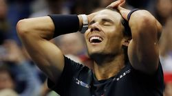 Rafael Nadal Cruises To His 16th Grand Slam