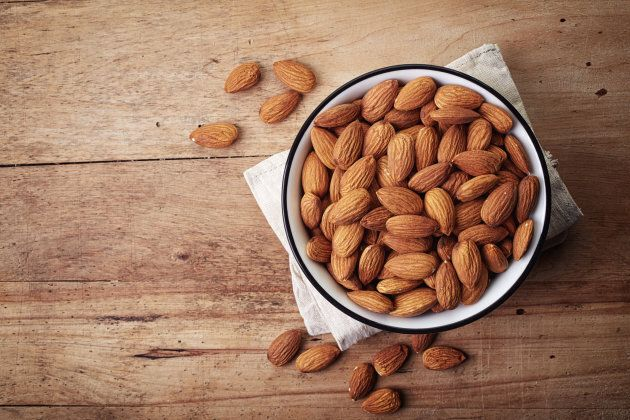 Almonds also contain cyanide, but in much lower