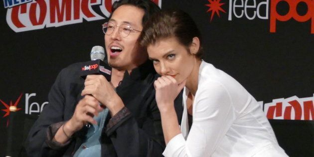 Will Season 7 be the end for The Walking Dead's cutest couple Glenn (Steven Yeun) and Maggie (Lauren