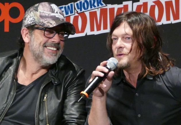 Jeffrey Dean Morgan is happy playing bad guy Negan while Norman Reedus plays one of the series' best...