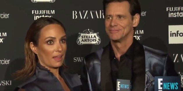 Jim Carrey's Existential, Sad Interview At New York Fashion Week Is Strangely