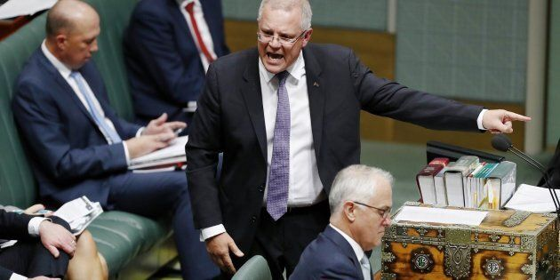 Scott Morrison nails his Harry Potter
