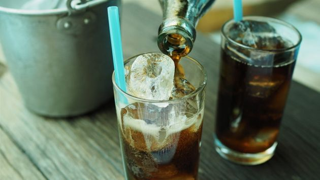 While water is best, the occasional soft drink (diet or otherwise) won't kill