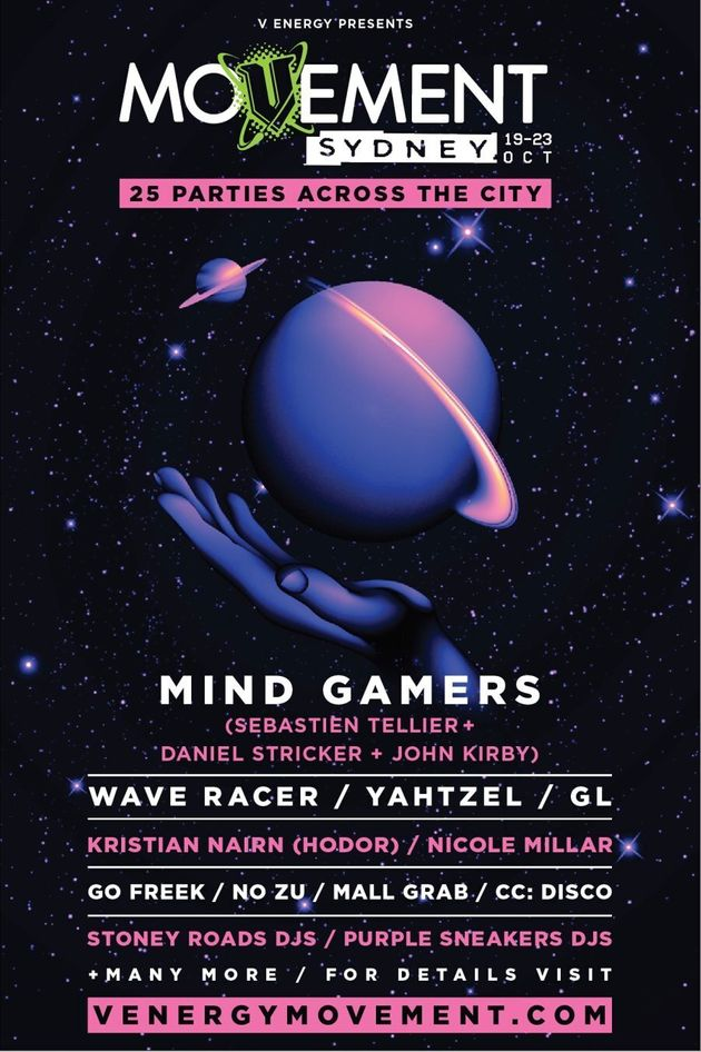 Movement Sydney: 5-Day Takeover With 25 Parties Around The