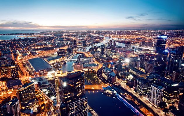 Beautiful Melbourne, a city notorious for its great coffee and