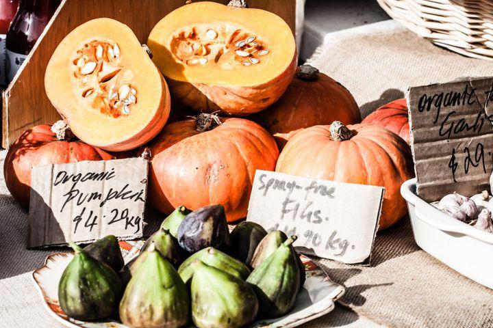 Head to Salamanca market in Hobart for fresh, seasonal produce.