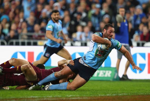 NSW were buoyed by this Cordner