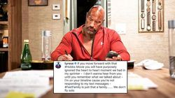The Rock And His 'Fast And Furious' Co-Star Tyrese Are Having An Instagram