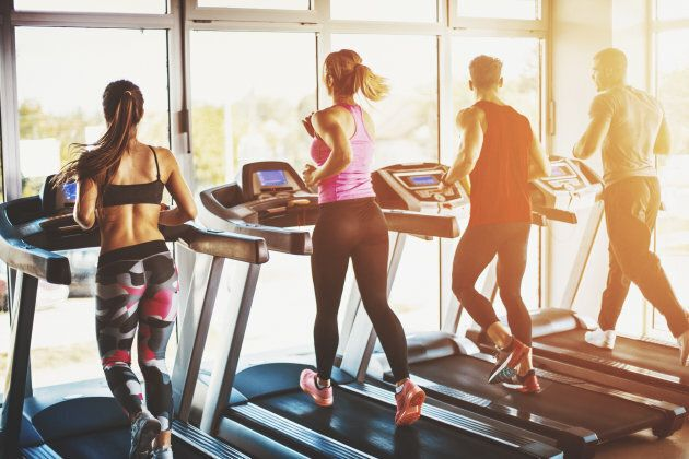 A treadmill is another option if the outdoors isn't.
