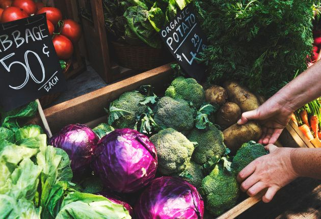 Head to the farmers' markets for food -- better produce and less junk food