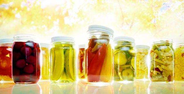 Pickled foods are a good source of sodium, just don't go
