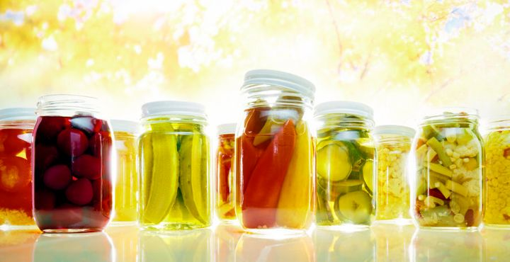 Pickled foods are a good source of sodium, just don't go overboard.