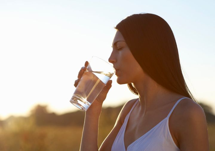 Drinking enough water can help to keep those pesky muscle cramps away.