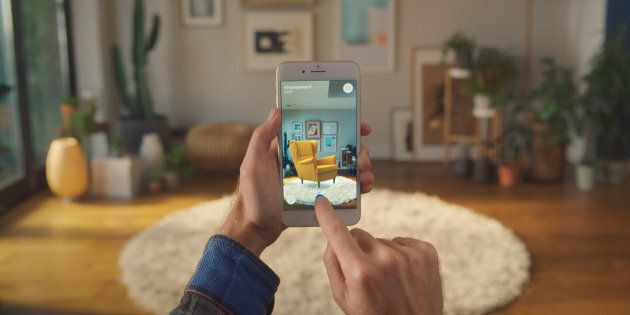 IKEA's New App Lets You Virtually Place Furniture In Your