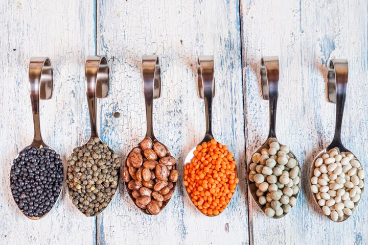 If you're new to eating legumes, start slow.